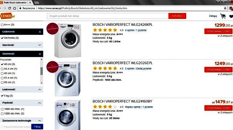 Jak kupić pralkę.