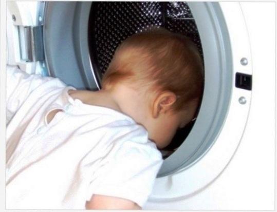 Śmierć dziecka w pralce